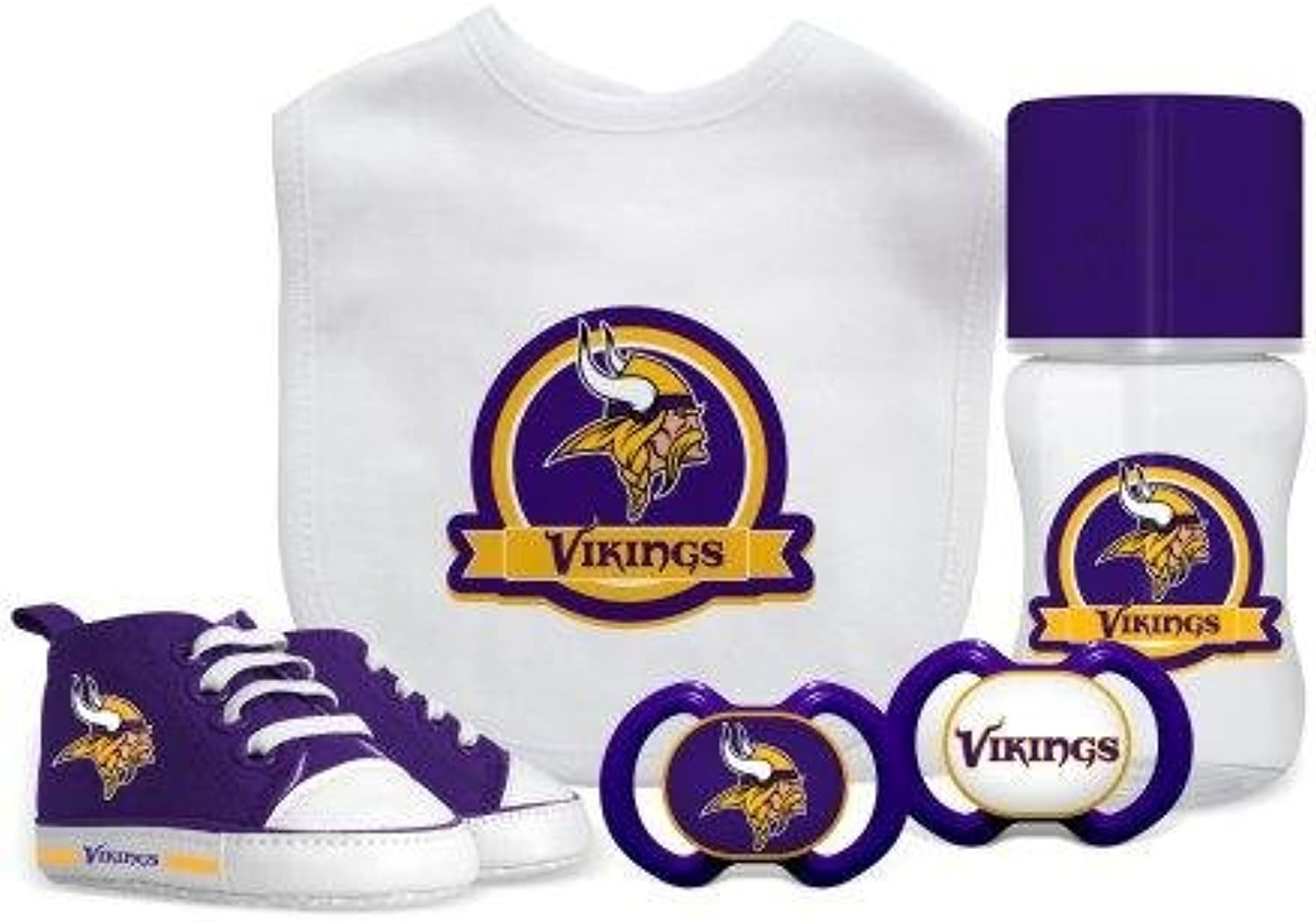 Baby Fanatic NFL Minnesota Vikings Infant and Toddler Sports Fan Apparel