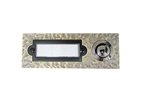 REV Ritter 0504360555 Klingelplatte, 1-Fach auf Putz, Bronze