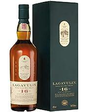 Lagavulin 16 Year Old Scotch Single Malt, Whisky Scozzese con Astuccio, 700ml