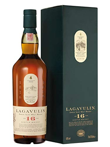 Lagavulin 16 Year Old Scotch Single Malt – Whisky Scozzese - 700 ml