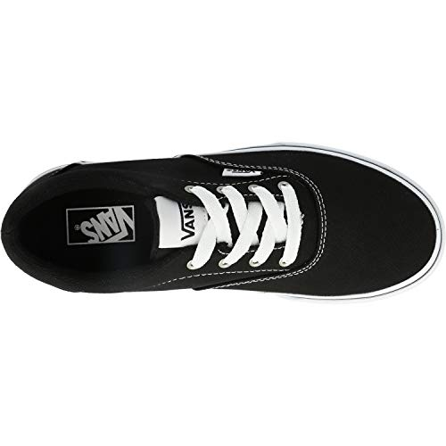 Vans Doheny, Sneaker, Nero Canvas Black/White, 34 EU