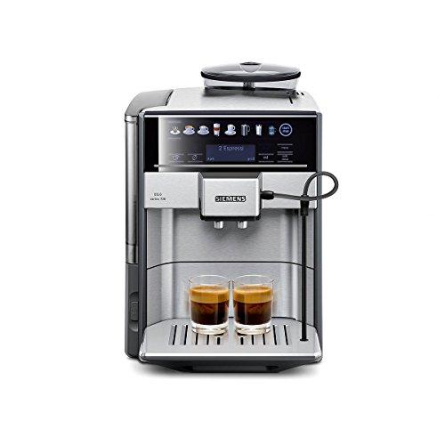 Siemens EQ.6 700 TE617503DE Volautomatische espressomachine, 1500 watt, directe selectie met sensorvelden, oneTouch, DoupleCup) roestvrij staal/middengrijs
