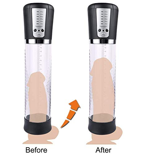 Buy Discount Automatic Men's Penissgrowth Vacuum Booster, Rechargeable Vacuum Pressure Pump, Electri...