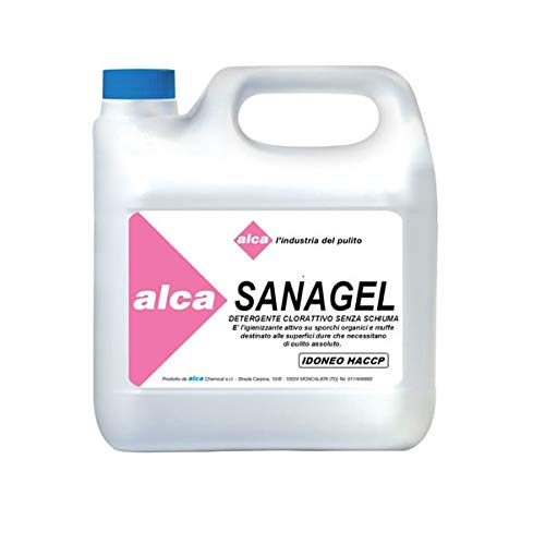 DETERGENTE SANIFICANTE Sanagel Tanica 3Kg Alca