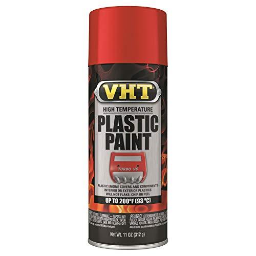 VHT Duplicolor ESP821007 Red High Temperature Plastic...