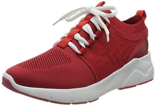 TOM TAILOR Damen 1191703 Sneaker, red, 39 EU