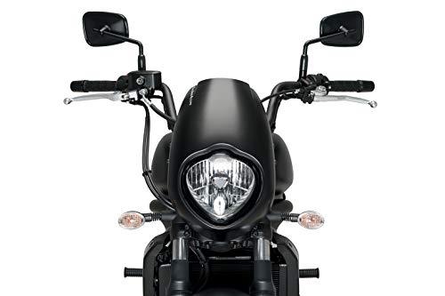 Customaccess AZ1117N T/ête de Fourche Mod/èle Dark Night Noir Customacces f/ür Harley Davidson Sportster 1200N Nightster XL1200N 08-12