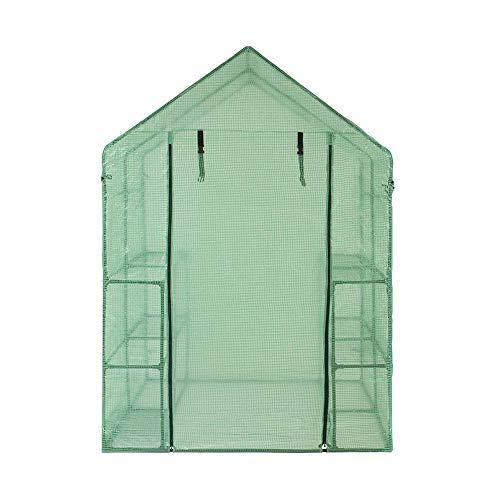 Mooderff tuinkas folie, corrosiebestendig duurzaam PVC planten warmhouse cover waterdicht broeikas tuin cover (zonder ijzeren frame)