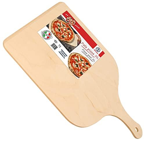 REPLOOD Pala para pizza XL - Bandeja de madera de abedul de...