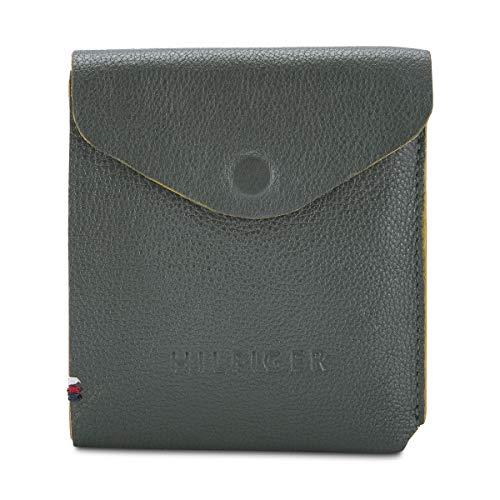 Tommy Hilfiger Olive/Mustard Men's Wallet (TH/RUBENSLF1416)