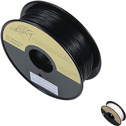 POM 1kg 1.75mm negro - Filamento para impresora 3D - FrontierFila