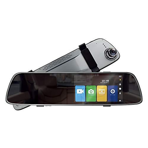 Cámara del Coche DVR PNI Voyager S2000 Full HD Incorporado 1080P 170 Grados Espejo retrovisor, 5 Pulgadas, Pantalla táctil IPS, aplicado al Espejo retrovisor y cámara retrovisora VGA de 120 Grados