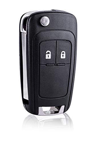 2-Tasten Gehäuse der Fernbedienung Typ Messer für OPEL Insignia Astra Meriva Zafira Movano Mokka Adam - Auto Schlüsselgehäuse, Pilot Autoschlüssel