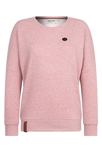 Naketano Damen Sweater 2 Stunden Sikis Sport Sweater-S-schmutzmuschi pnk melange
