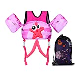 TOAUXUNG Adjustable Kids Swim Vest for Baby Swimming Training,Infant Baby Vest Swim Aid for 22-66 Pounds Boy and Girl