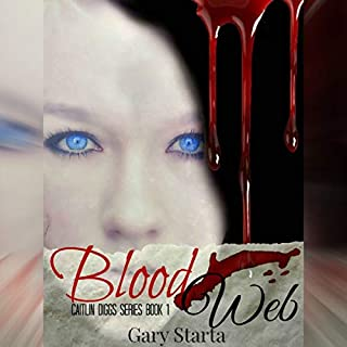 Blood Web audiobook cover art