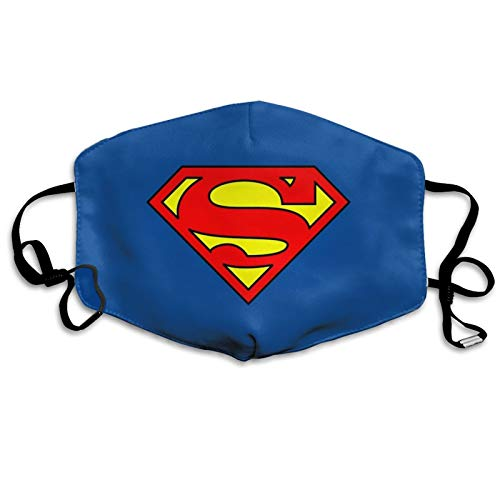 S-uperman Cov-Ers Face Reusable Wind Resistant Breathable Balaclava For Outdoor Sports (Superman3, One Size)