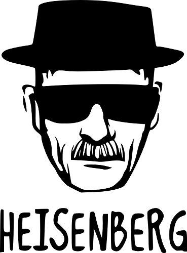 Heisenberg Breaking Bad. Rude, Erwachsene, Funny Symbol Bumper Aufkleber Car Van Bike Aufkleber Aufkleber Free P & P