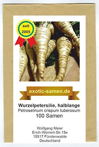 Wurzelpetersilie, Petersilienwurzel - halblange - 100 Samen
