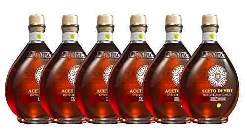 6 bottiglie di Aceto di Mele Due Vittorie Invecchiato in barrique 500ml (3000ml)