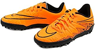 Nike Jr. Hypervenom Phelon II TF Turf Soccer Cleats (Total Orange)