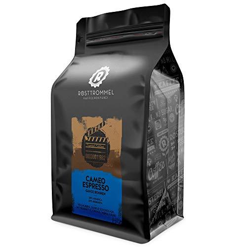 Espressobohnen CAMEO - Special Edition - dunkle Schokolade, vollmundig - handgeröstet - ideal für Vollautomat & Siebträger