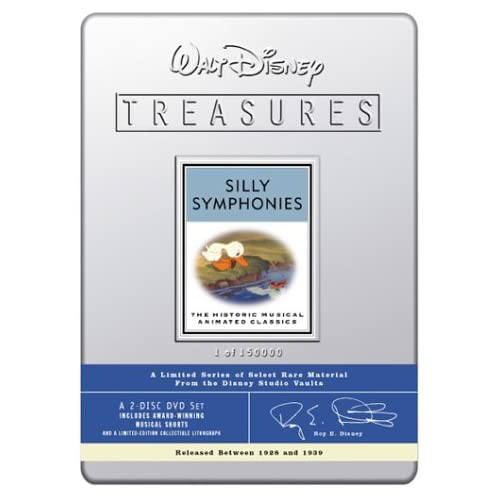 Amazon.com: Walt Disney Treasures - Silly Symphonies: Marie ...