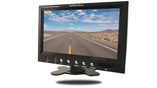 TadiBrothers 7 Inch Monitor with Wireless Mounted RV Backup Camera