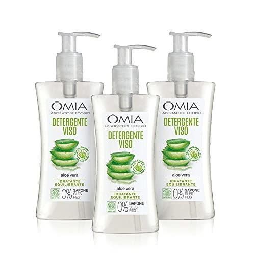 Omia Gel Detergente Viso Eco Bio Aloe Vera del...