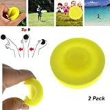 HUHUDAY Mini Frisbee, 2019 Nuovi Zip Chip Frisbee Morbido Flessibile Mini Flying Disc Spin...