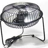 HHYK Pequeño ventilador eléctrico exterior silencioso ventilador eléctrico de mano mini ventilador recargable USB hoja de aluminio 360 giratorio AFC ventilador eléctrico mini mesa pequeña ventilador v
