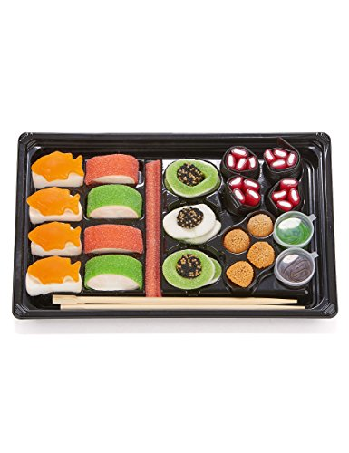 Look-o-Look Plateau de bonbons sushis 300g