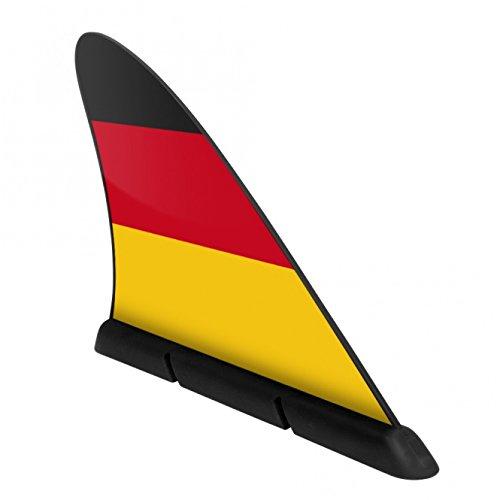 Fanflosse die DEUTSCHLAND-FAHNE fürs Auto - Originell und dezenter WM FANARTIKEL 2014