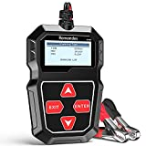 Romondes BT200 Car Battery Tester 12V 100-2000 CCA Auto Battery Load Tester Charging Cranking System Analyzer for Car Boat Motorcycle Truck Marine