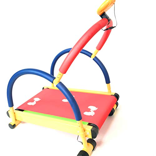 RIYIFER Tapis roulant per Attrezzature per Il Fitness per Bambini,Macchina per Il Fitness per Camminare,Attrezzatura Sportiva Adatta per praticare Il Fitness a casa