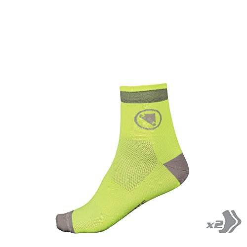 Endura–Luminate Socks, Yellow Fluor, Gr. S-M