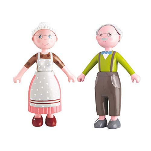 HABA Little Friends - Puppe (Opa Kurt + Oma Elli, 2 Puppen)