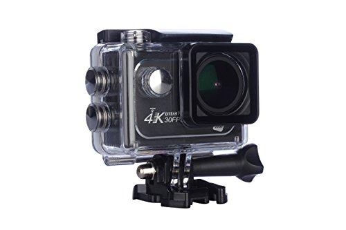 """NK Supreme - Cámara acción 4K LCD 2"""" con Objetivo 170º (900 mAh, MP4, 32 GB) Color Negro"""