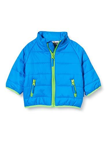 Playshoes Mädchen Steppjacke uni Jacke, Blau (Blau 7), 86