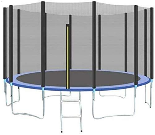 YAOJIA Cama elástica Trampolín |Mini Cubierta Deportes trampolín, trampolín al Aire Libre for niños y Adultos |Bungee Cama al Aire Libre Grande con Red de protección, aparatos de Gimnasia