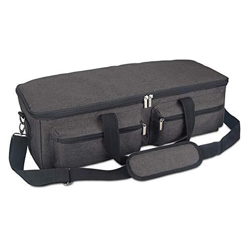 Moligh doll Sac de Transport Compatible avec Explore Air 2, Sac de Rangement Compatible avec Silhouette Cameo 3 et Fournitures Noir