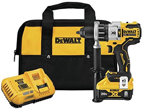 DEWALT 20V MAX XR Rotary Hammer/Drill Combination Kit, 2-Inch, Brushless, Power Detect Tool Technology (DCD998W1)