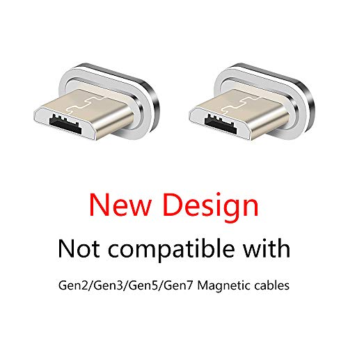 NetDot Gen10 Conectores Micro USB sin Cables (Micro USB/2 Pack)