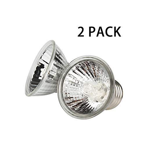 ZDJR Solarlampe mit komplettem Spektrum, UVA + UVB, Bräunungslampe/Leuchtmittel für Reptilien und Amphibien, 75W