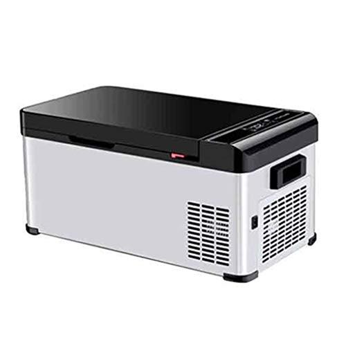 Mini Fridges Car Compressor Refrigerator Car And Home Dual-purpose Freezer Small Refrigerating Freezer Freezing And Refrigerating Digital Display Temperature Adjustment