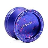 MAGICYOYO V6 LOCUS Space Beginner Yo-yos Responsive Yoyos Metal Yo-yo for Kids Yo Yo Set (Purple Pink)
