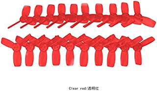 10 Pair KINGKONG 2345 Propeller 3 Blade CW CCW 1.5mm Mounting Hole for 11xx Motors 80-110 RC FPV Racing Frame Drone EMAX Babyhawk (10CW,10CCW)