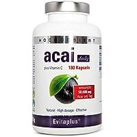 Acai DAILY Acai Berry 50.000 mg, 180 capsule, ahora con la máxima concentración de 30:1 de extracto.
