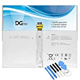 DGTEC New DYNR01 G3HTA027H Laptop Battery Replacement for Microsoft Surface Pro 4 1724 12.3 inch Tablet Series G3HTA026H 7.5V 38.2Wh/5087mAh