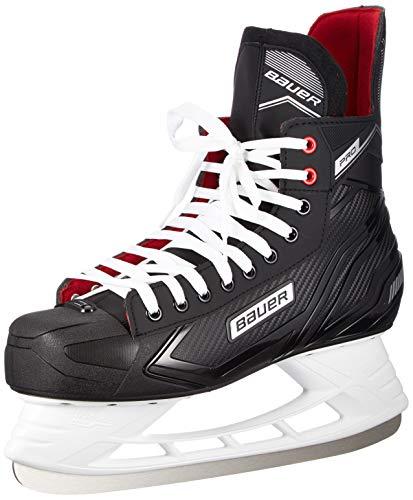 Bauer Herren Pro Skate Sr Feldhockeyschuhe, Schwarz (Schwarz-Weiss-Rot-SI 900), 45.5 EU
